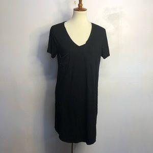 Z Supply black pocket T-shirt dress medium